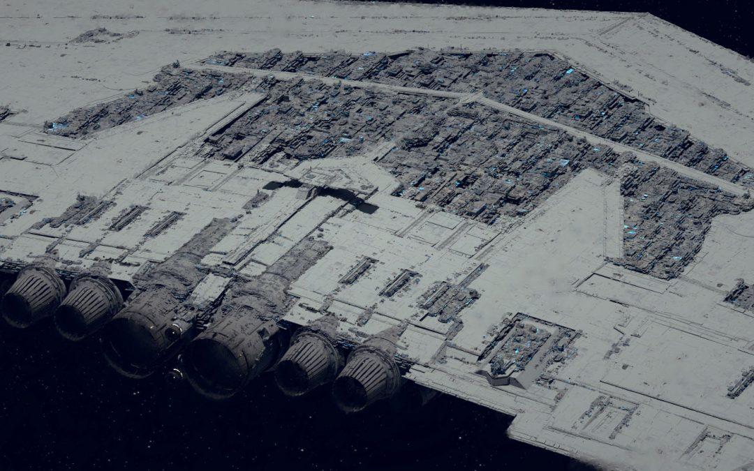 Star Wars: The last Jedi – Mega Destroyer