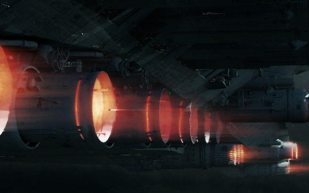 Star Wars: The Last Jedi – Mega Destroyer Engine