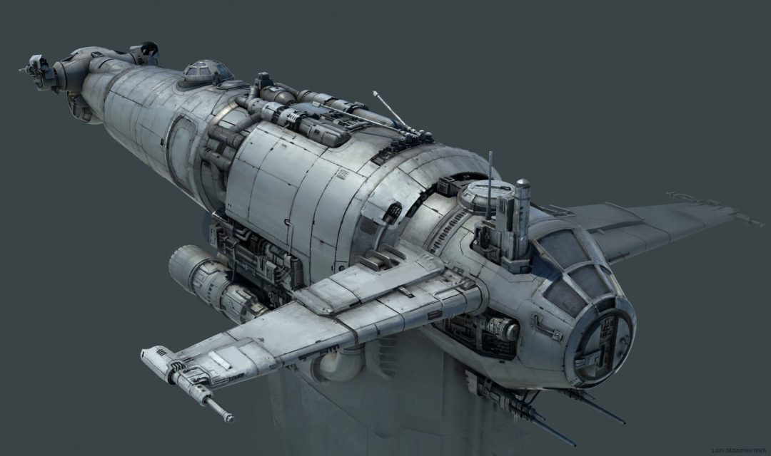 Star Wars: The last Jedi – Resistance Bomber