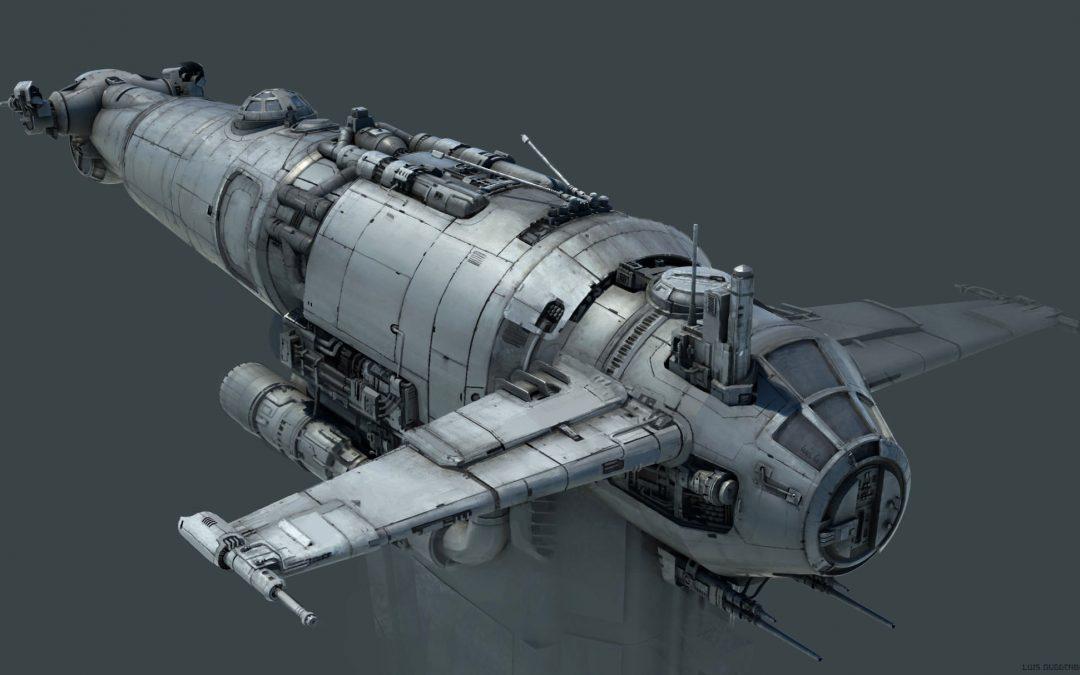 Star Wars: The last Jedi – Resistance Bomber