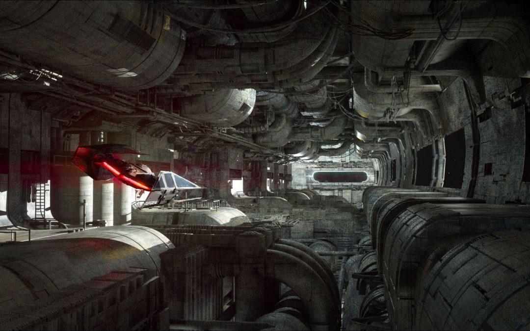 Star Wars: The Last Jedi – Trench Design